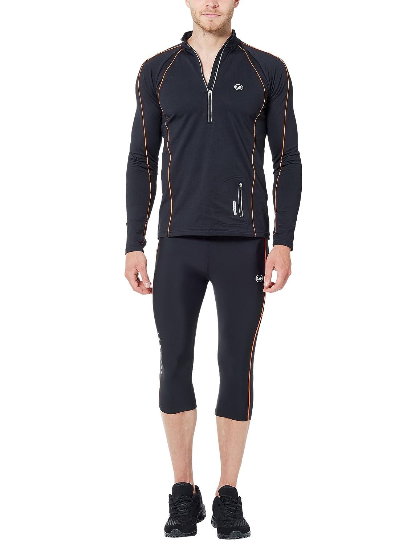 Ultrasport Effetto Compressivo E Funzione Quick Dry 3//4 Pantalone Jogging Lunghi Uomo