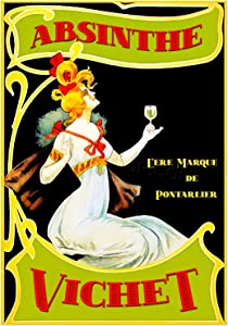The Art Stop Food Drink Vintage AD VICHET Absinthe Alcohol Print F12X7518