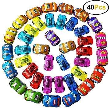 Amazon.com: Himeeu - 40 piezas de vehículos de arrastre ...