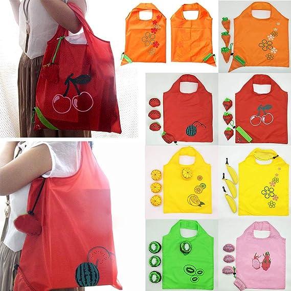 Amazon.com: Fruits - Bolsas de la compra reutilizables, 5 ...