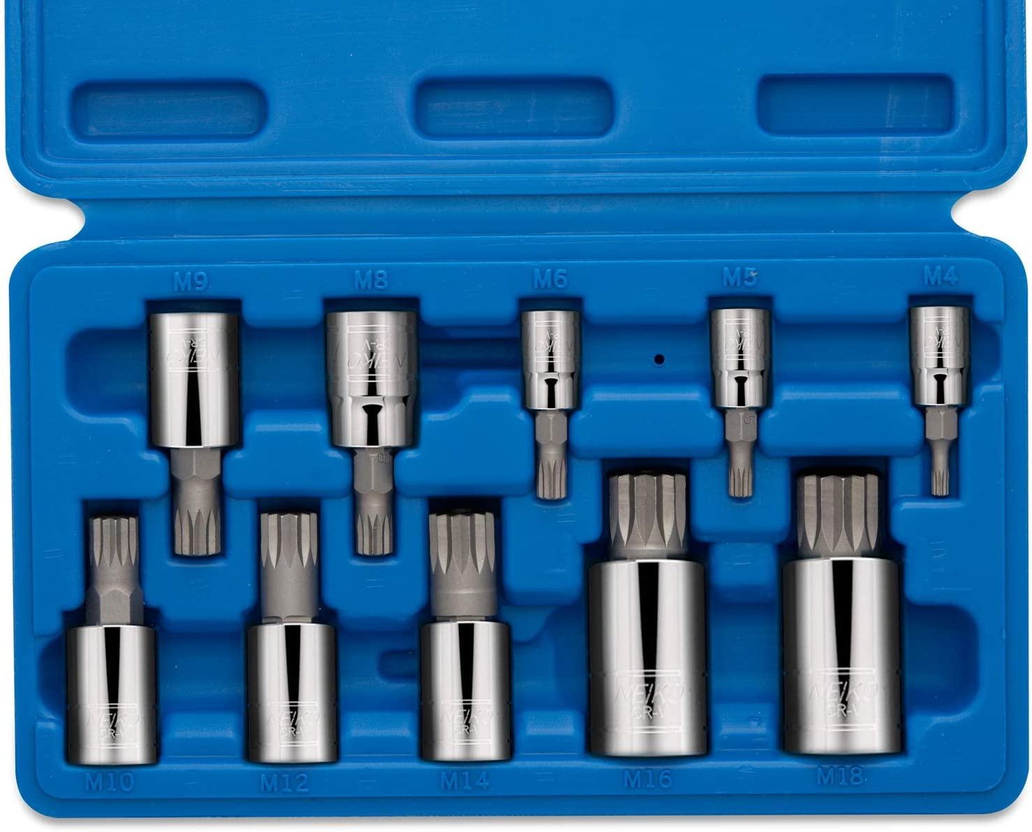 "FOR TORX HEX SPLINE BIT HOLDER 10MM X 1//2/"" DR TRIPLE SQUARE"