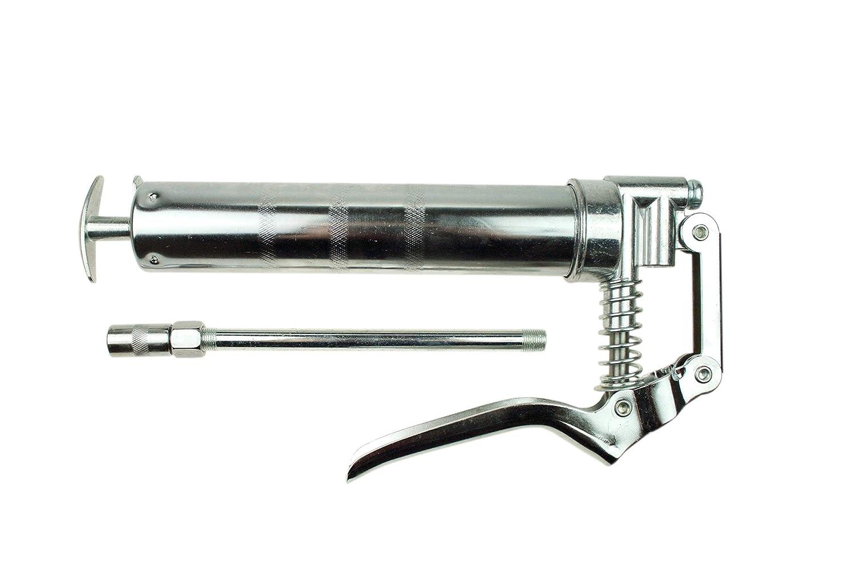 Geko G01140 Mini Pistola de Grasa 120Cc, Silver