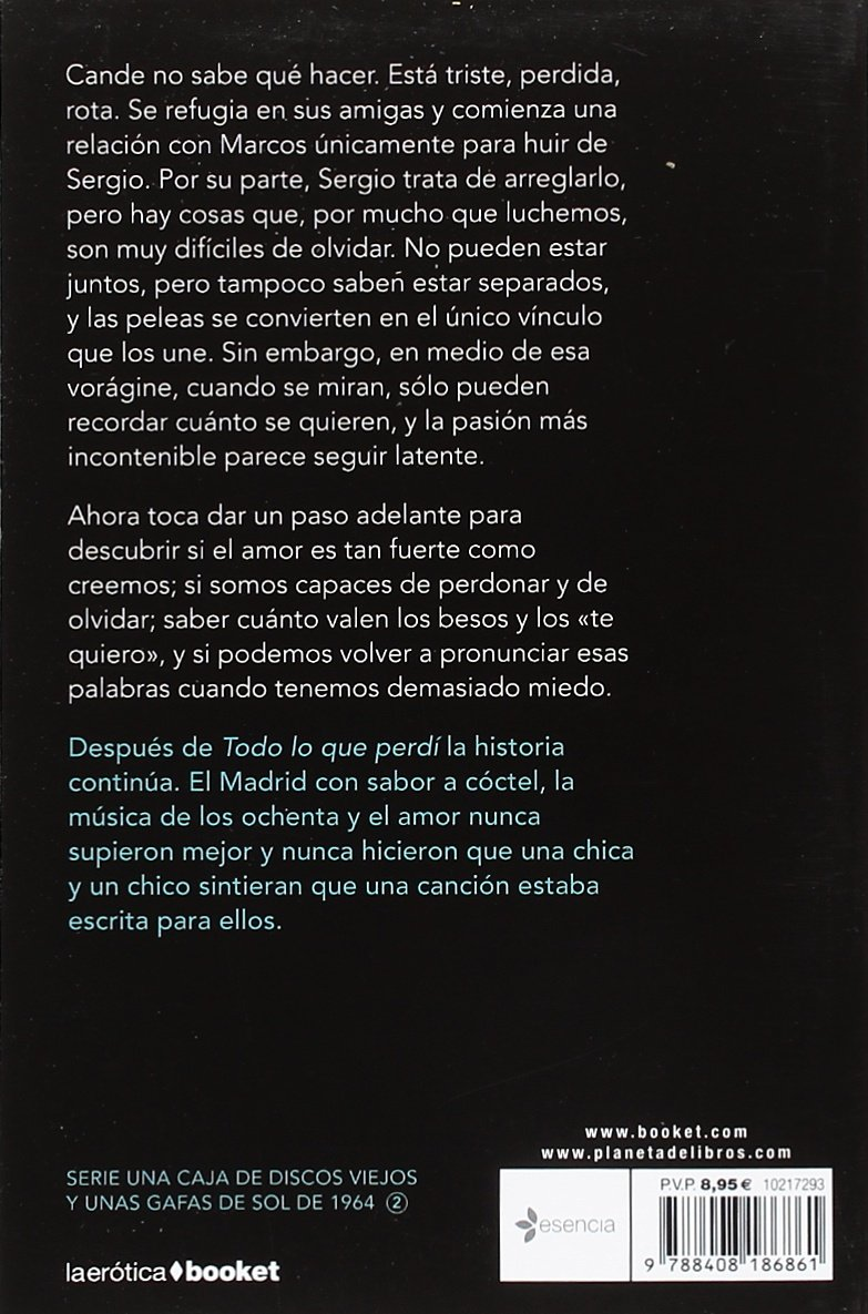 Todo lo que encontré: Cristina Prada: 9788408186861: Amazon ...