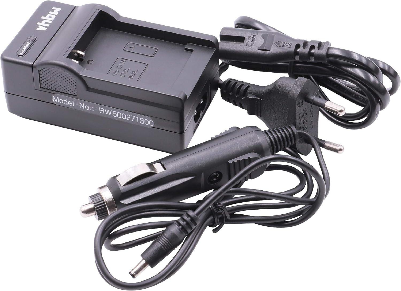 Chargeur Secteur 220V + Voiture 12V pour Batterie Canon NB