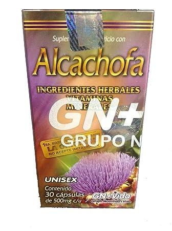 Pastillas de Alcachofa/Artichoke Pills