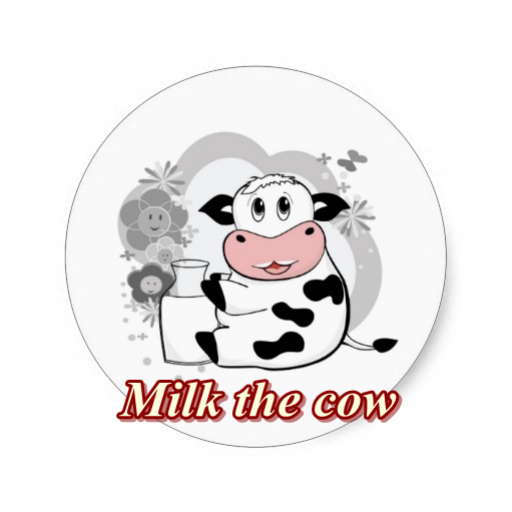 milk the cow - Milk Games Cow