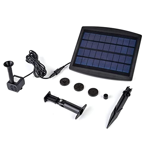 Ingenious Solar Water Pump Watering Fountain Panel Kit Pool Home Garden Fish Pond Watering & Irrigation