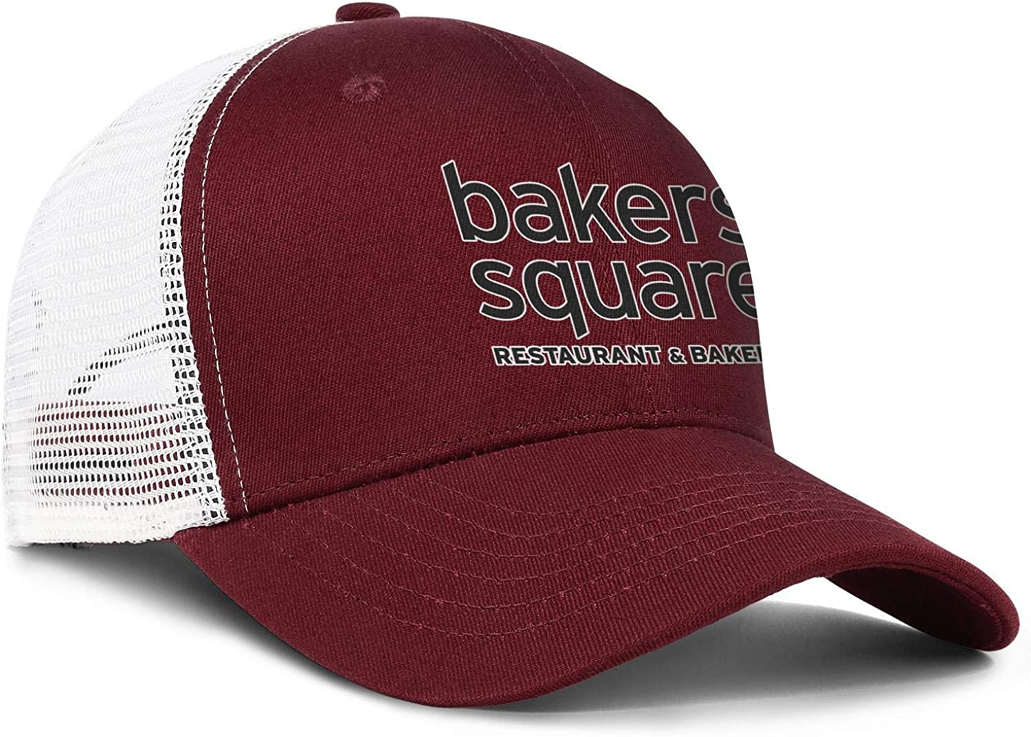 Wudo Unisex Bakers Square Hat Pretty Trucker Hat Baseball Cap Adjustable Cowboy Hat