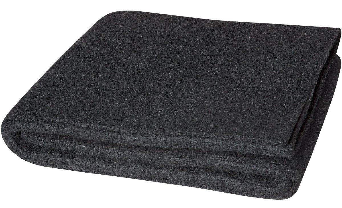 Steiner 317-3X4 Velvet Shield HD 24-Ounce Black Carbonized Fiber Welding Blanket, 3' x 4'