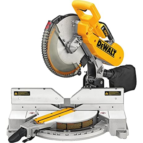 Dewalt dw716xps compound miter saw with xps 12 inch amazon dewalt dw716xps compound miter saw with xps 12 inch greentooth Image collections