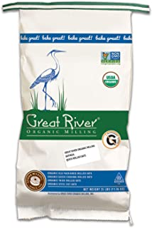 product image for Great River Organic Milling, Oatmeal, Quick Rolled Oats, Organic, 25-Pounds (Pack of 1)