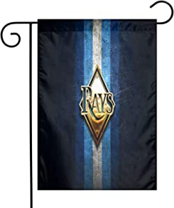 Lilian Ralap Ta-Mp-A Bay Rays Garden Flag,Home Rustic Garden Yard Decorations,Seasonal Outdoor Flag 12 X 18inches