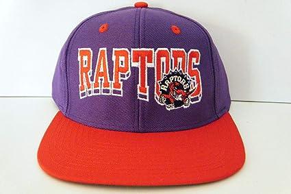 930c4a798d7 Amazon.com   Toronto Raptors NEW Vintage Snapback Hat   Sports Fan ...