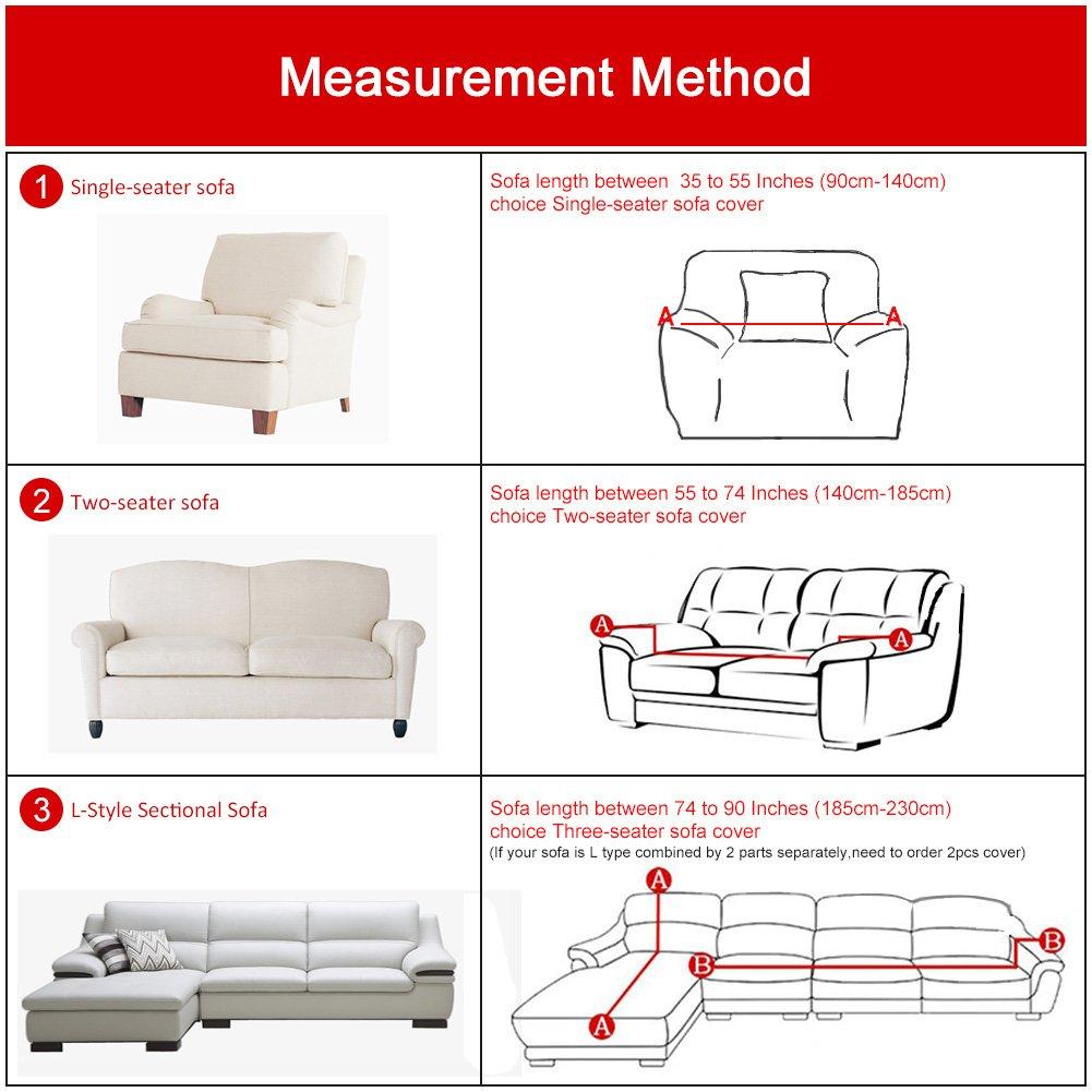 Amazon Com Stretch Sofa Cover Sofa Covers Slipcover Sofa 1