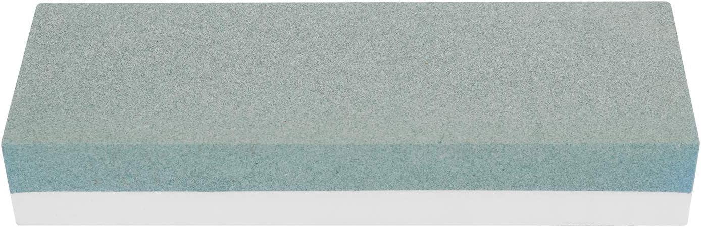 KKmoon Abziehstein Schleifstein Set,240#//800# K/örnung Doppelseitiger Schleifstein Wetzstein