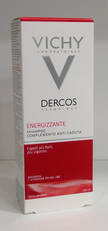 Dercos - Lote de 3 paquetes de champú estimulante anticaída, 200 ml: Amazon.es: Belleza