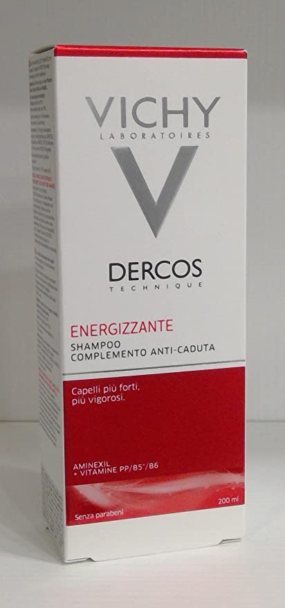 Dercos Champú Estimulante Anticaída 200 ml