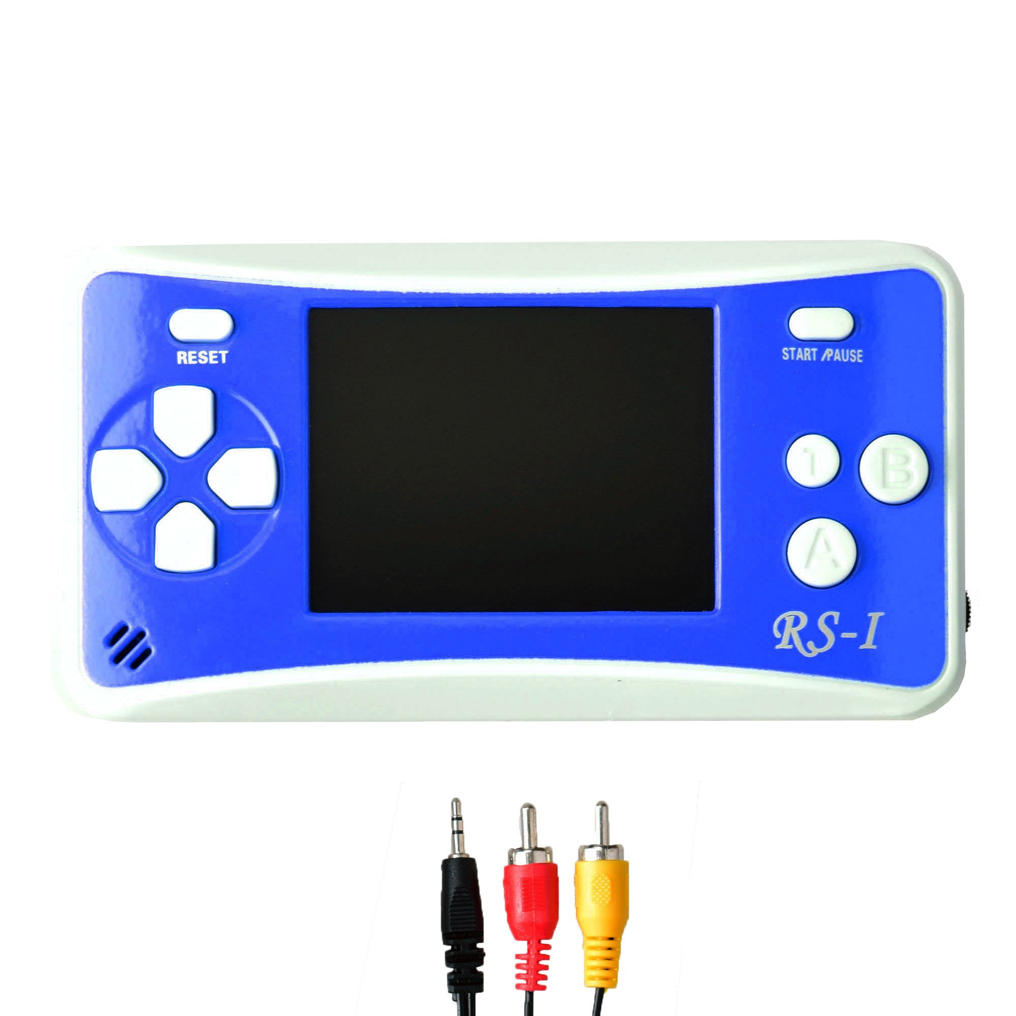 Gam3Gear 3 x AAA Built-in 152 Retro Classic Games 2.5'' LCD Handheld Game Console with Speaker Blue/White by Gam3Gear (Image #1)