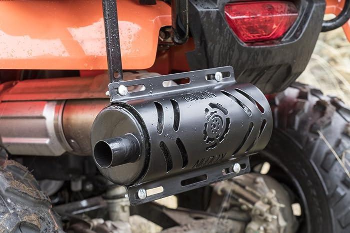 atv muffler silencer