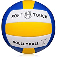 Wisdom Leaves Beach Volleyball Soft Touch Volleyball for Outdoor/Indoor Games Official Size 5