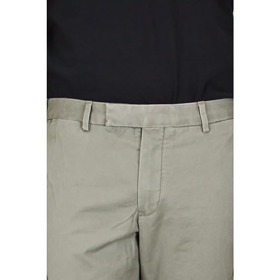 5d11c0ab55620 Ralph Lauren Pantalon Chino Slim Longueur 32 Gris pour Homme  Amazon.fr   Vêtements et accessoires