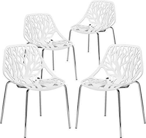 EdgeMod Modern Mid-Century Birds Nest Dining Side Chair