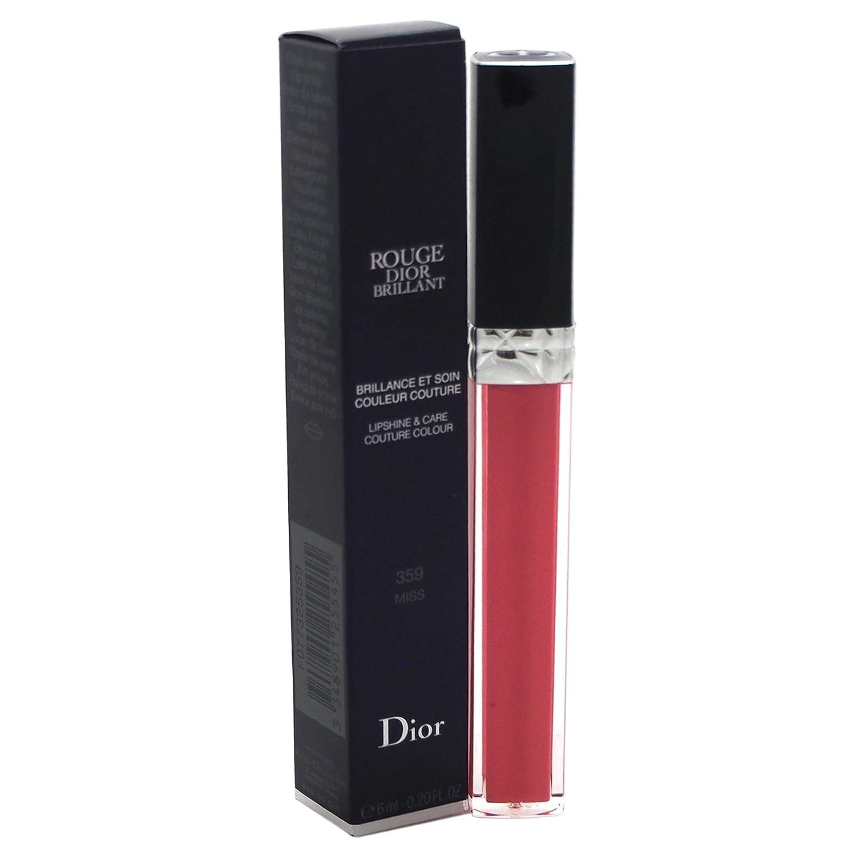 Dior Rouge Brillant Gloss - Brillo de labios, color 359-miss, 6 ml 3348901255455 846-77325359_-6ml