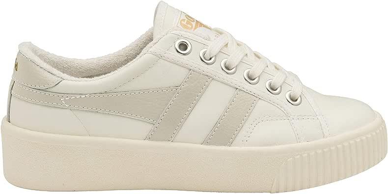 Gola Women's Baseline Mark Cox Leather Sneaker