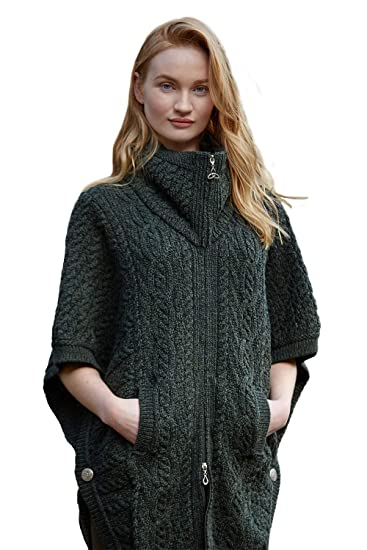 Image Unavailable. Image not available for. Color  100% Irish Merino Wool  Batwing Aran ... 36e0d748e