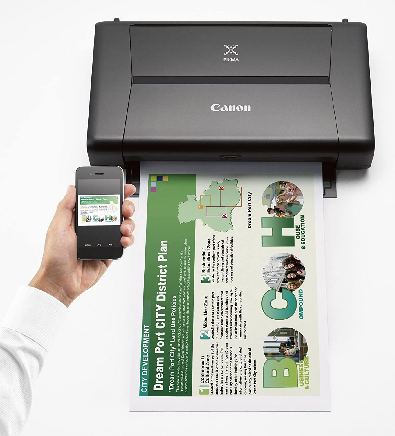 26f991f15 Amazon.com: CANON PIXMA iP110 Wireless Mobile Printer With Airprint(TM) And  Cloud Compatible