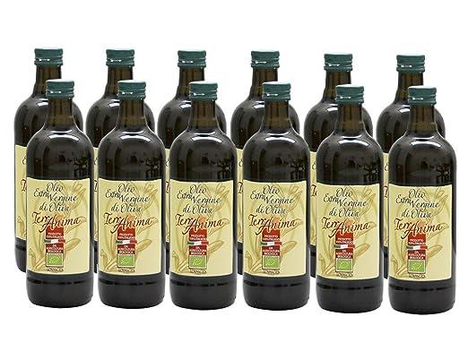 2 opinioni per Olio extravergine di oliva 100% italiano -12 pz Bio