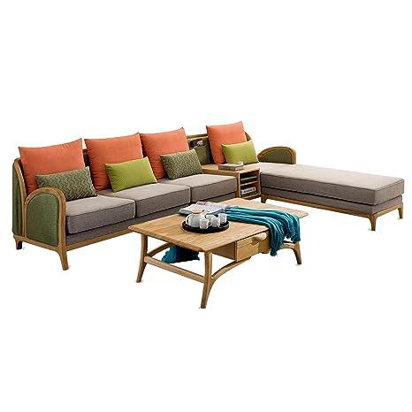 Admirable Amazon Com Classical Ash Wood Living Room Furniture 4 Piece Spiritservingveterans Wood Chair Design Ideas Spiritservingveteransorg