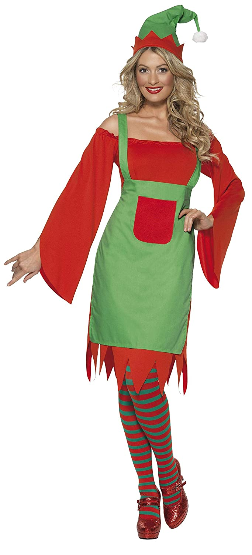 Smiffys - Disfraz de Elfo para Mujer, Talla L (33149L): Amazon.es ...