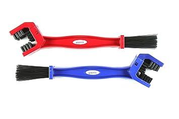 ChainBrite, Cepillo para Limpiar Suciedad Cadenas Motocicletas (pack 2). También sirve para