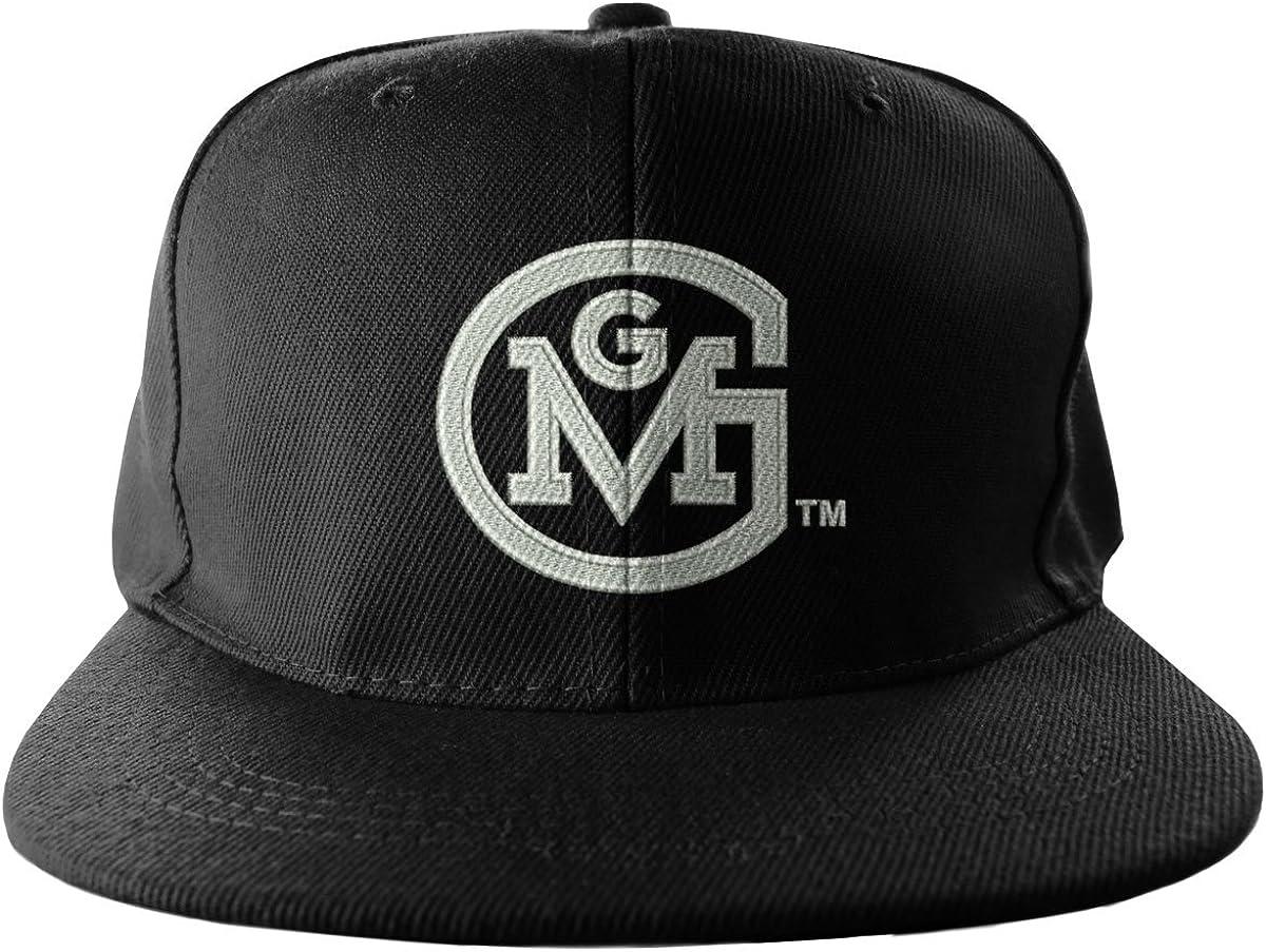 Gas Monkey Garage baseball Cap GMG Round Logo Official Black Snapback One Size