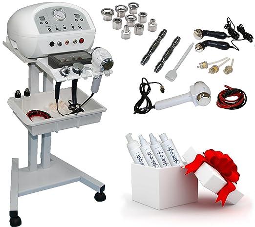 LCL Beauty Professional Grade 3 in 1 Diamond Microdermabrasion Ultrasonic Massage Hot & Cold Hammer Multifunction Facial Machine Salon Spa Beauty Equipment