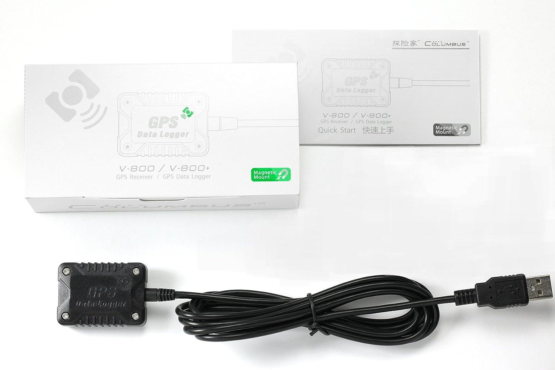 32Mb Memory, 248,000 Waypoints GPS Data Logger Columbus V-800