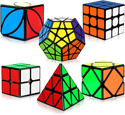 V-CUBE CHALLENGING Collection 2x2 /& 3x3 Brainteaser Cubes