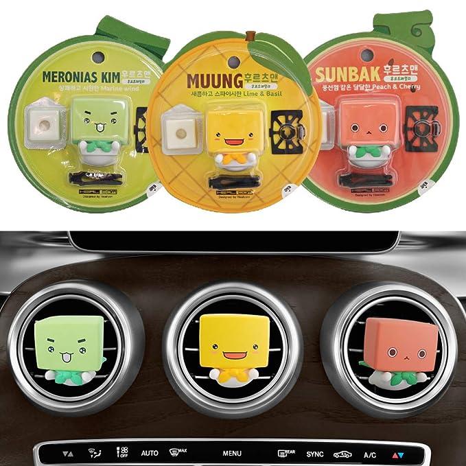 Amazon.com: Fruitsman - Ambientador para coche, fragancia de ...