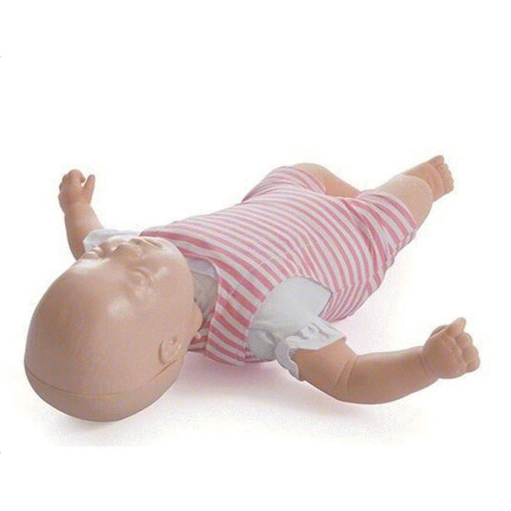 CPR Baby Infant Training Manikin Airway Obstruction PVC First Aid Model