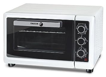 Fagor - Mini Horno Mh21N, 21L, 1380W, Tradicional-Grill-Multifuncion,