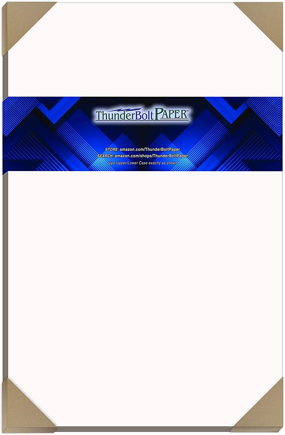 """50 Sheets Chipboard 24pt White 1 Side - 11"""" X 17"""" (11X17 Inches) Tabloid