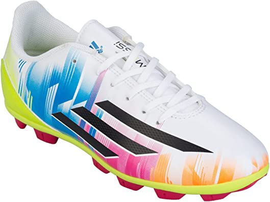 adidas F5 TRX HG Messi Niño, Bota de fútbol, Running White ...