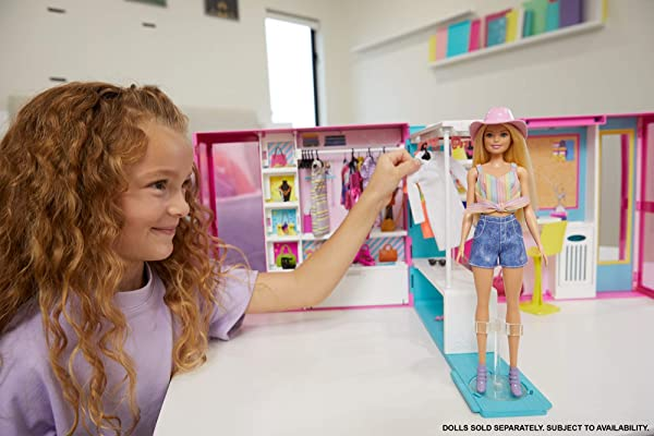Barbie Dream Closet doll playset for kids
