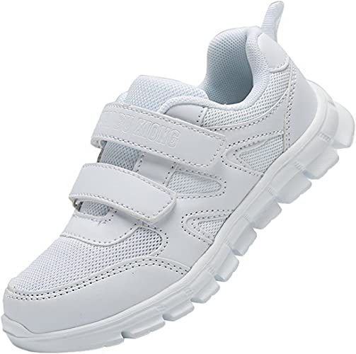 Kids Boys Girls Mesh Trainers Sneaker Child Comfort Sport Athletic Shoes Sizes
