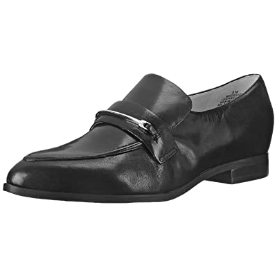 Nine West Women's Oxidize Leather, Black, 10.5 M US | Flats