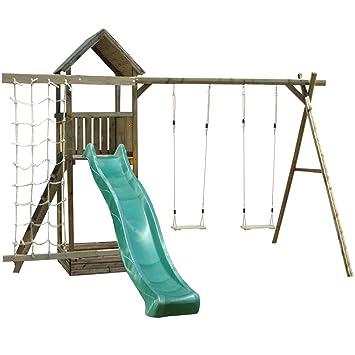 Arundel Wooden Childrens Swing Set Climbing Frame, 1.5 Metre High ...