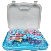 My Baby Excels Premium Peppa Pig Doctor set packed in Plastic foldable suitcase for Children of age 3 to 8 years (EN71, Multicolour)