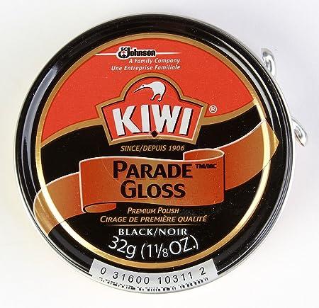 1cbcc12d2b055 Kiwi Parade Gloss Premium Shoe Polish Paste, 1-1/8 oz, Black, 48 ...