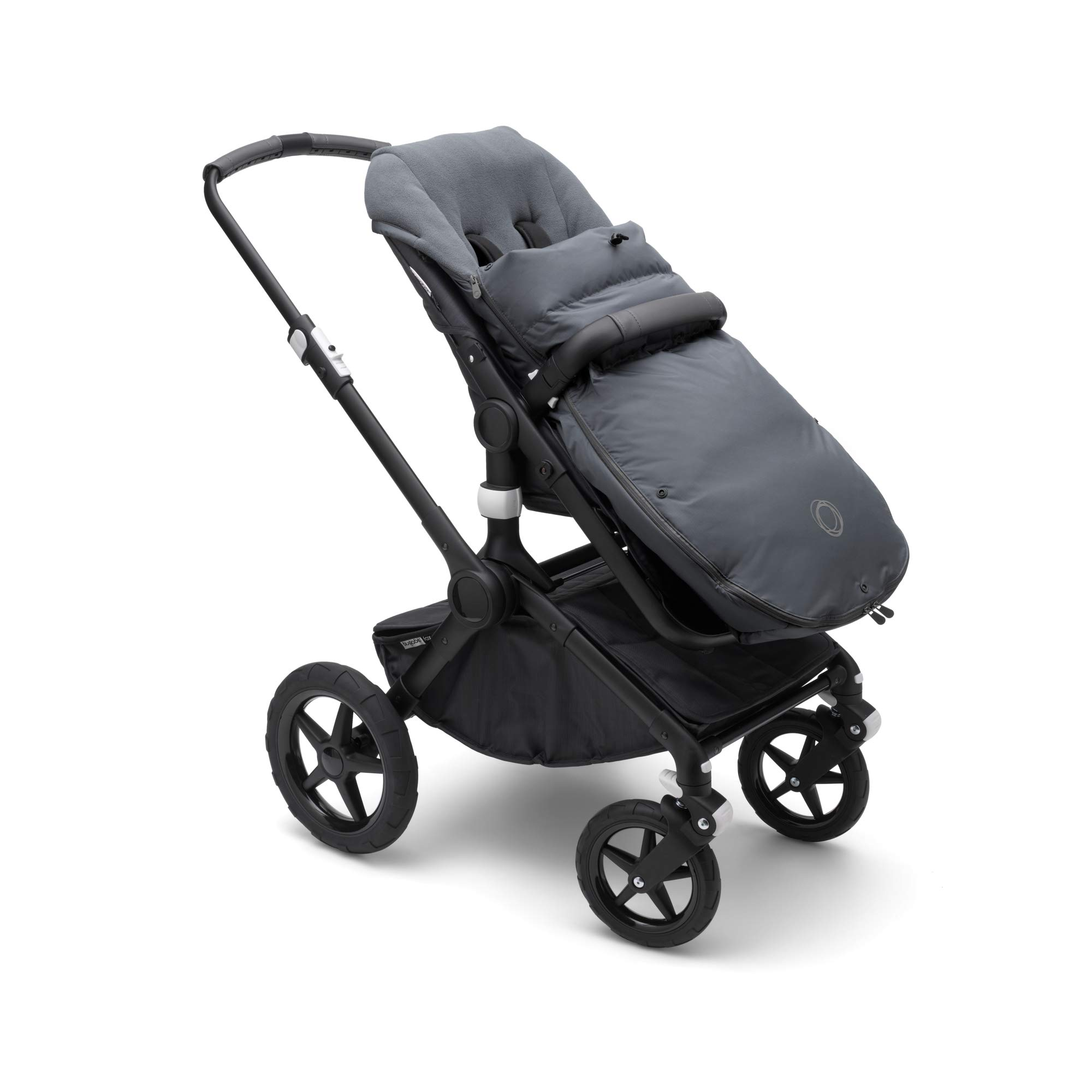 Bugaboo High Performance Footmuff - Stellar - Down-Filled Cover to Keep Your Baby Warm and Visible During Winter Days or Nights - Universally Compatible with All Bugaboo Strollers by Bugaboo (Image #3)